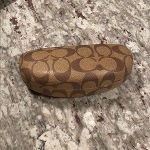 Coach glasses case